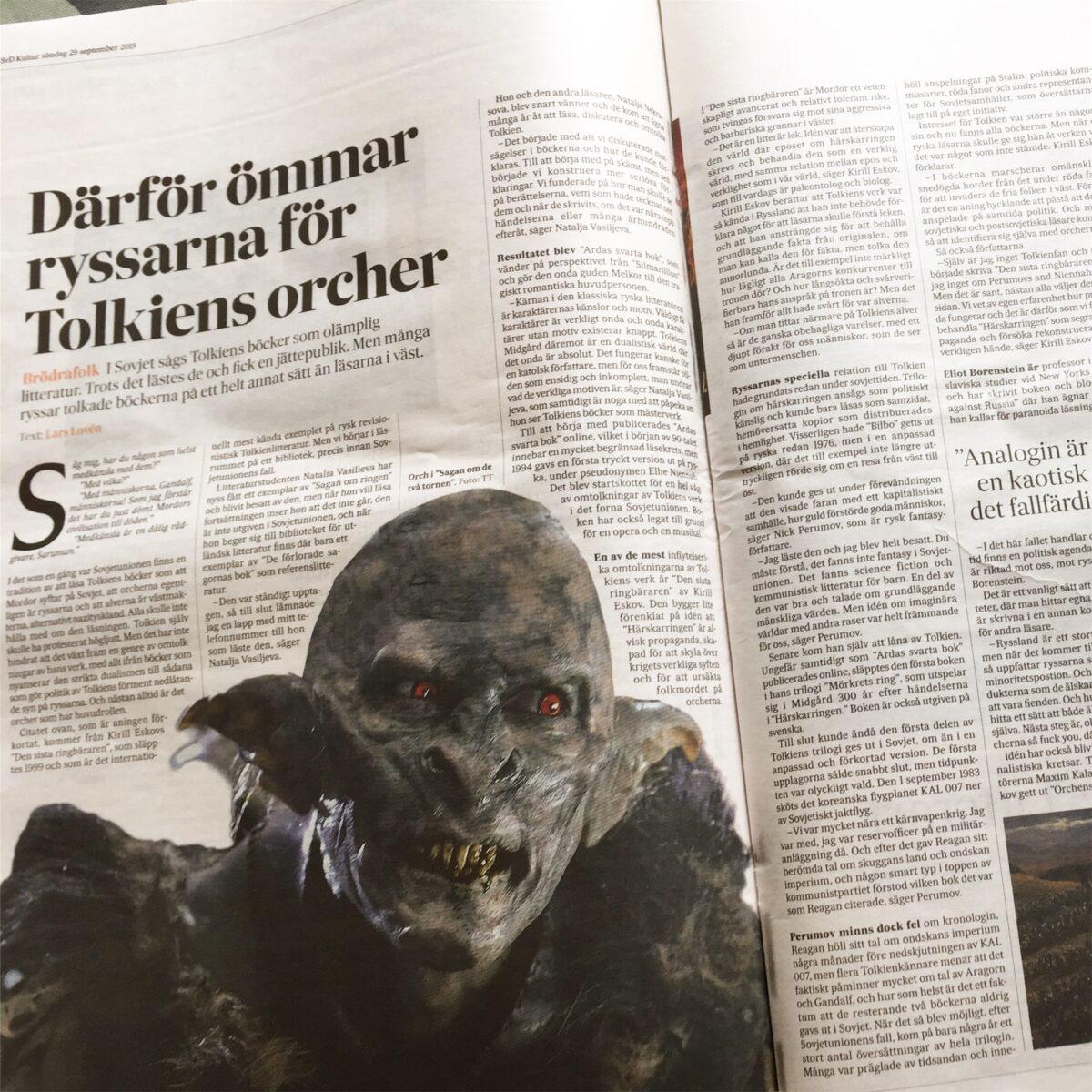 Därför ömmar ryssarna för Tolkiens orcher